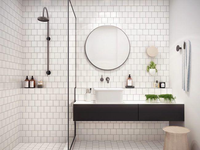 décorer une salle de bain.