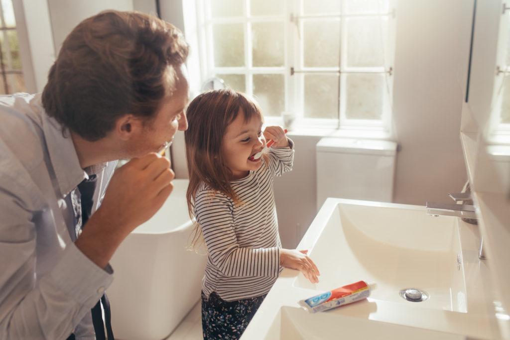 adapter sa salle de bain pour les enfants.