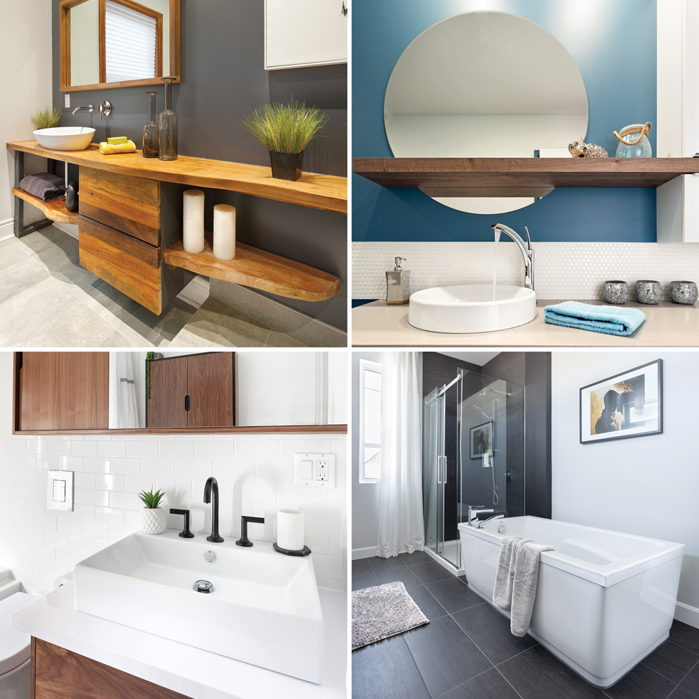 Quelques astuces DIY pour relooker sa salle de bain à moindre prix.