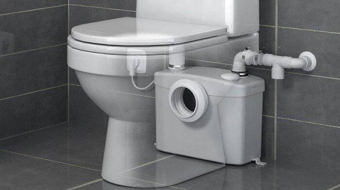 les différents types de toilettes.