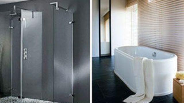 choisir une douche plutôt qu'une baignoire.