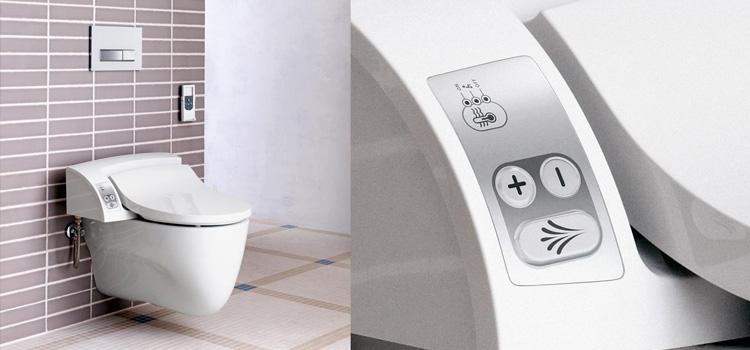 toilettes intelligentes.